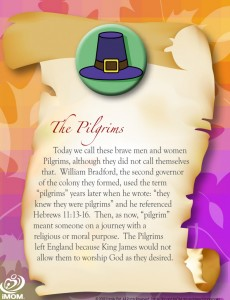 Thanksgiving Cards: The Pilgrims