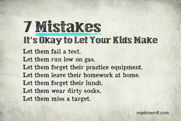 7 Mistakes You Should Let Your Kids Make on Point Math