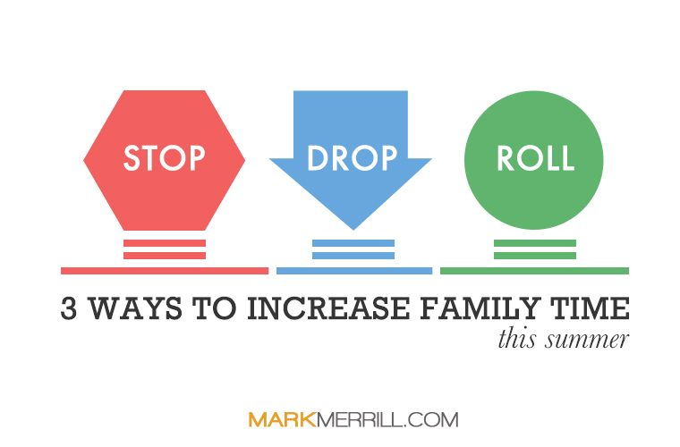 increase family time this summer