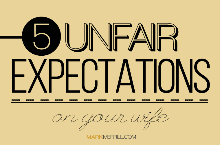 what mean expect from their wives