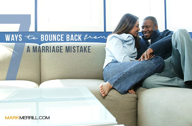 marriage mistake