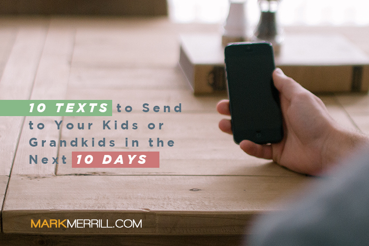 text your kids