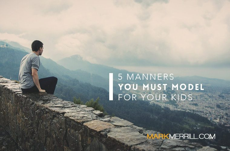 manners model kids