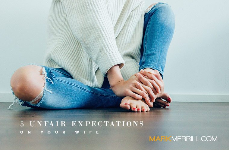 what men expect from their wives